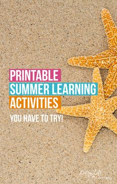 My kids love these printables. Don't let summer slide happen in your home, keep learning with these fun printable summer learning activities. Learning can happen beyond the textbooks, make it fun with these engaging printables for kids.
