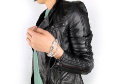 MONKEY ROAD JEWELRY_Quadrangle Crystal Bracelet   www.monkeyroadjewelry.com