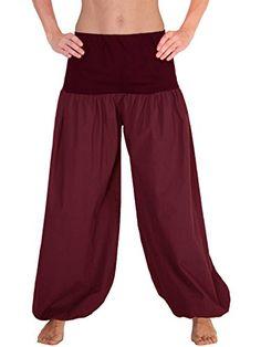 HOSE Taschen Pluderhose Unisex Damen Herren Yoga Ballonhose Pumphose POCKET