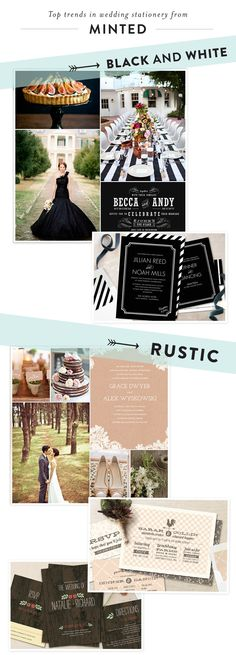 Wedding Stationery Trends by Minted + A Giveaway!  Read more - http://www.stylemepretty.com/2013/07/20/minted-2/