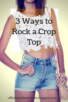 Styling tips for rocking a crop top. | Lookbook Store Style Tips