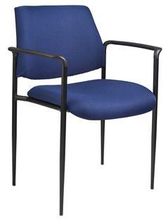 Boss Diamond Stacking Chair, Blue