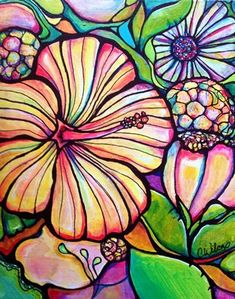 Tropical Garden – Colleen Wilcox Art