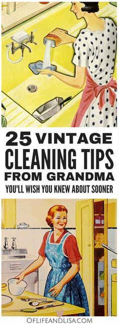 '25 Housekeeping Secrets from Grandma You'll Regret Missing...!' (via Of Life and Lisa)