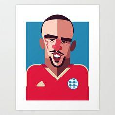 Franck Ribery by Daniel Nyari