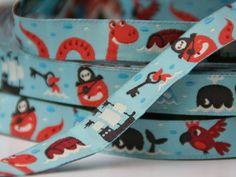 woven ribbon 'pirates' by ByBora on Etsy, £1.60