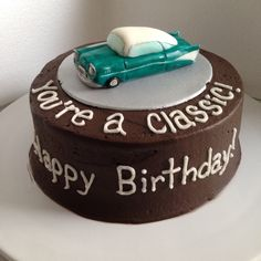 Classic Car Cake My Cakes Pinterest Car Cakes Cake And Cars