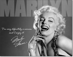 Marilyn - Definately Tin Sign