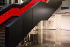 Interieur renovatie – The New Atrium Amsterdam #harryvan #interieur #ontvangstruimte #stalentrap