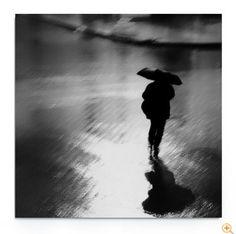"""""""Rainy loneliness"""" von Key Gross  Limitierte Editionen mit Zertifikat und Signatur"""
