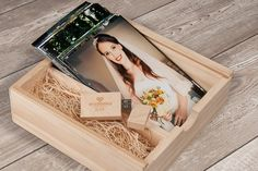 Custom personalised Wooden USB stick and by HandmadePhotoGifts