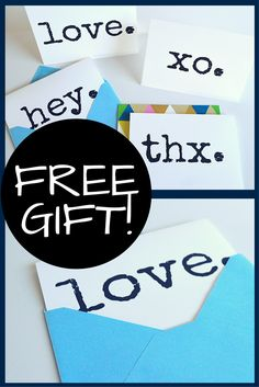 Free gift, no strings attached…just a thank you from me to you! A set of 4 multipurpose cards (blank inside) that can be used for any occasion. Enjoy!