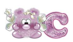 Oh my Alfabetos!: Alfabeto cosita linda en violeta.