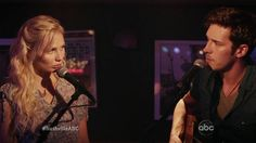 Nashville's Scarlett and Gunnar. Loved their performance in the pilot! Read more about Nashville: http://allthatcubeness.wordpress.com/2012/10/19/what-to-watch-nashville/