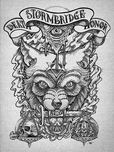 Death & Honor on Behance