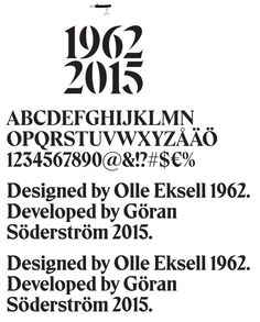 Image result for eksell typeface combination