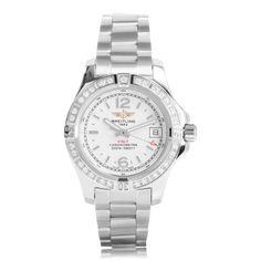 Breitling Colt  Diamond Quartz Ladies Watch A7738853/G793 173A