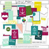 wow mom journal cards