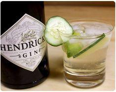 Hendricks gin + tonic + cucumber = NIRVANA