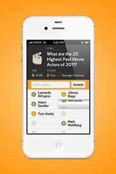 Quiz App Transition/Reveal by Moritz v. V. on Dribbble