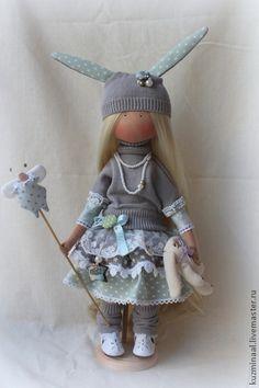 Коллекционные куклы ручной работы. Ярмарка Мастеров - ручная работа Текстильная кукла EMMA РЕЗЕРВ. Handmade.