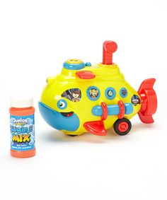 Take a look at this Bump N Go Bubble Submarine Set by NKOK Racing on #zulily today! $11.99 #roddler $toys #baby