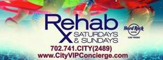 REHAB Las Vegas at The Hard Rock is coming…. Are you ready? 702.741.CITY(2489) City VIP Concierge for Cabanas, Daybeds, Bungalows and the Best of Any & Everything Fabulous in Las Vegas!!! #RehabLasVegas #CityVIPConcierge #VegasCabanas.com CLICK/CALL TO BOOK http://www.cityvipconcierge.com/las-vegas-pools-cabanas.html