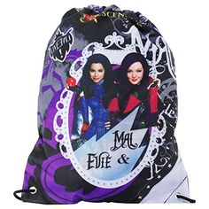 Disney Descendants Live Evil Drawstring Backpack Daypack >>> Details can be found by clicking on the image.