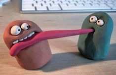 Making simple clay characters for education using animation., , Making simple clay characters for education using animation. Clay Animation, Animation Stop Motion, Animation Character, Ceramic Monsters, Clay Monsters, Cardboard Sculpture, Paper Mache Sculpture, Polymer Clay Crafts, Diy Clay