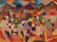 Paul Klee · With the Mountains Range · 1919