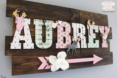 Boho woodland deer name sign Woodland girl nursery Woodland girl deer nursery letters Mint and pink woodland nursery decor Boho chic art - Kinsley Baby Name - Ideas of Kinsley Baby Name - Woodland Nursery Girl, Deer Nursery, Nursery Name, Woodland Baby, Animal Nursery, Nursery Ideas, Nursery Letters Girl, Mint Nursery, Baby Room Letters