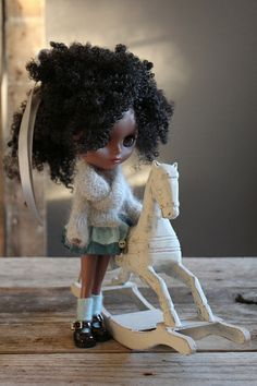 Beatrice likes the Horses too by Abi Monroe of Taylor Couture, via Flickr// Dolls Yes!