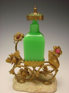 French vintage perfume bottle