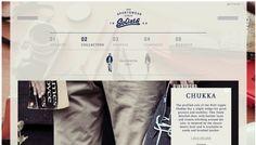 Goliath - Web design inspiration from siteInspire #webdesign