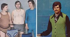 1970s Men's Fashion Ads You Won't Be Able To Unsee | Bored Panda