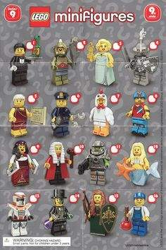 Collectible Minifigures Series 09 http://www.flickr.com/photos/ryoohki/30557000416/