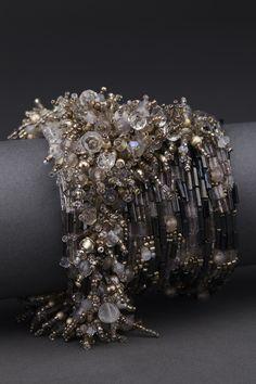 Andrea Gutierrez Swarovski crystal couture cuff