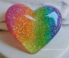 Resin Crafts, Resin Art, Paper Crafts, Heart Wallpaper, Wallpaper Iphone Cute, Love Heart Images, Rainbow Aesthetic, Heart Art, Heart Ring