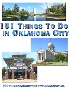 101 Things to Do.: 101 things to do in Oklahoma City - Would be awesome to… Oklahoma City Zoo, Travel Oklahoma, Kansas, Oklahoma City Things To Do, Oh The Places You'll Go, Places To Travel, Summer Activities, Le Far West, Bon Voyage