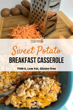 Sweet potato breakfast casserole is warm and filling…the perfect way to start your morning. potato al horno asadas fritas recetas diet diet plan diet recipes recipes Sweet Potato Breakfast Hash, Sweet Potato Hash Browns, Turkey Breakfast Sausage, Breakfast Sausage Recipes, Hashbrown Breakfast Casserole, Easy Healthy Breakfast, Eating Healthy, Healthy Food, Healthy Life