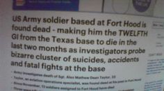 BREAKING : 12 US Soldier To Die In 2 Months From US Base - TNTV