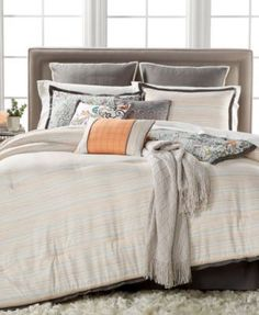 Kelly Ripa Home Belmar 10-Pc. Reversible Queen Comforter Set, Only at Macy's