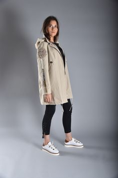 CLOUDY Canvas Coat & FLINN Trousers