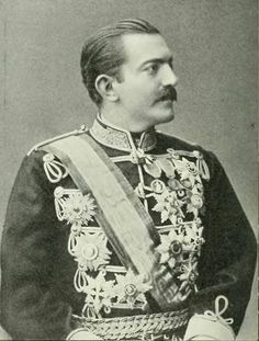 Milan Obrenović (Cyrillic: Милан Обреновић; 22 August 1854 – 11 February 1901), was the ruler of Serbia from 1868 to 1889, first as prince (1868-1882) and as king (1882-1889).