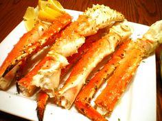 Baked King Crab Legs with Garlic Lemon Butter Sauce | Panlasang Pinoy
