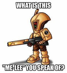 Tau and melee