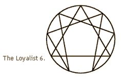 Enneagram Type 6 - The Loyalist Conflicted between trust and distrust