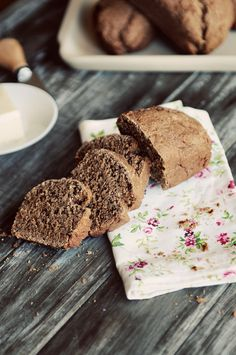 "Dark Roast Coffee Yeast Bread from @Kristen @DineandDish she says ""This bread reminds me some of the dark bread you get from the Cheesecake Factory"""