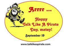 Talk Like A Pirate Day coupons for freebies