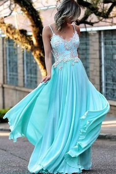 48718119b2c 55 Top V Neck Prom Dresses images